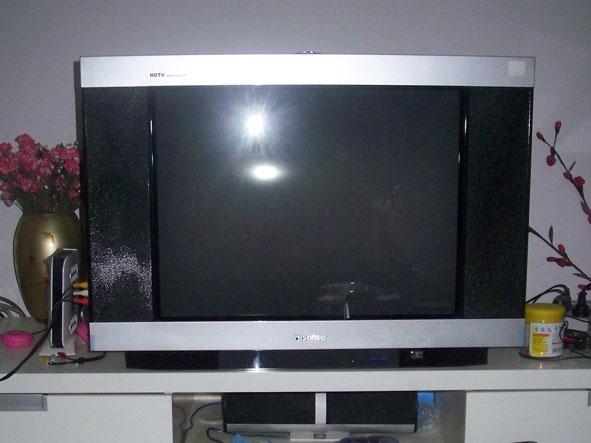 500元轉讓9成新海信29寸純平電視