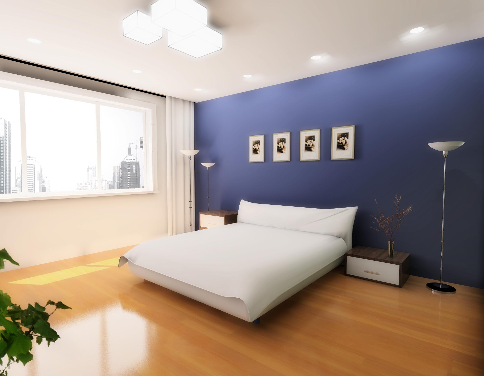 背景墙 房间 家居 起居室 设计 卧室 卧室装修 现代 装修 1978_1536