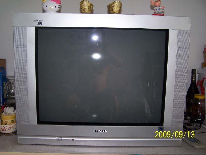 低价转让康佳29吋纯平数码彩霸电视机
