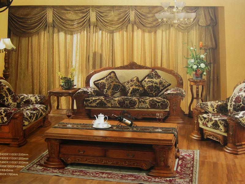 欧式古典风格实木家具