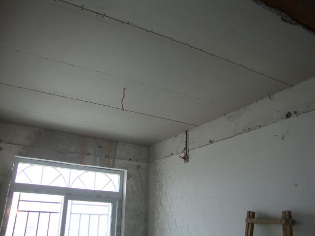 房间顶(石膏板平顶)内用轻钢龙骨和丝杆