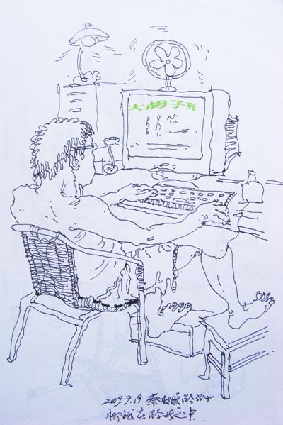 大学寝室设计图 手绘