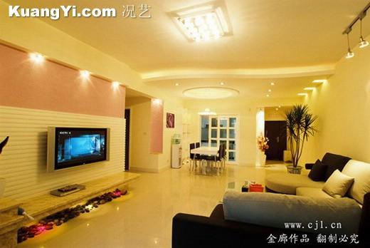 电视背景墙之效果图 - 深圳房地产信息网论坛