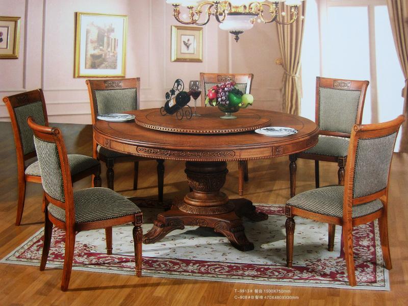 简欧式古典实木家具