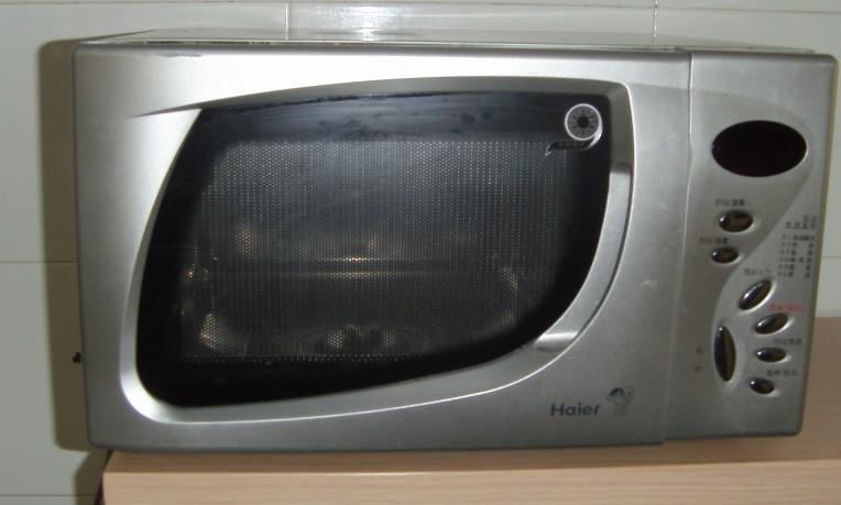 转06年购买的海尔微波炉和29寸乐华彩电