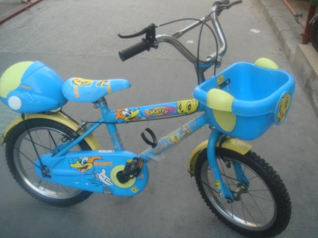 二手淘换  美食特产  > 16寸新中华儿童自行车,好孩子婴儿手推车学步