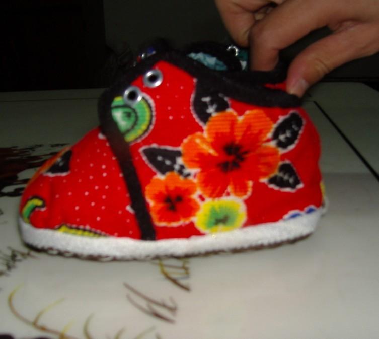 幼儿鞋带鞋子手工制作大全