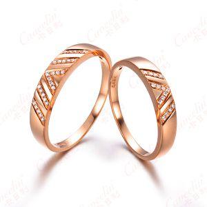 09年最流行的钻石戒指 结婚钻戒款式