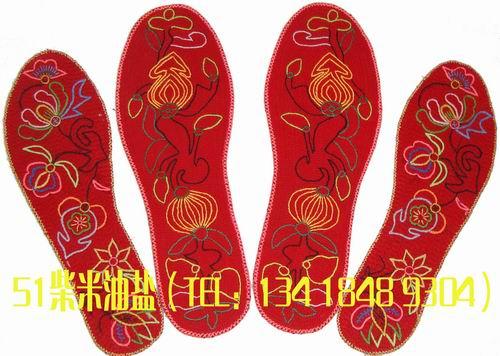农村纯手工绣鞋垫,防臭!