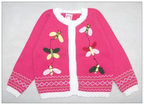 给宝宝买新衣服了!这么漂亮的毛衣