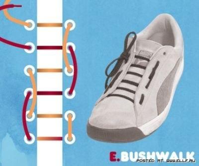 > 鞋带的时尚系法!太牛了!进来学习一下吧!(内空)