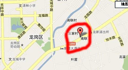 摩尔城在地图上的位置