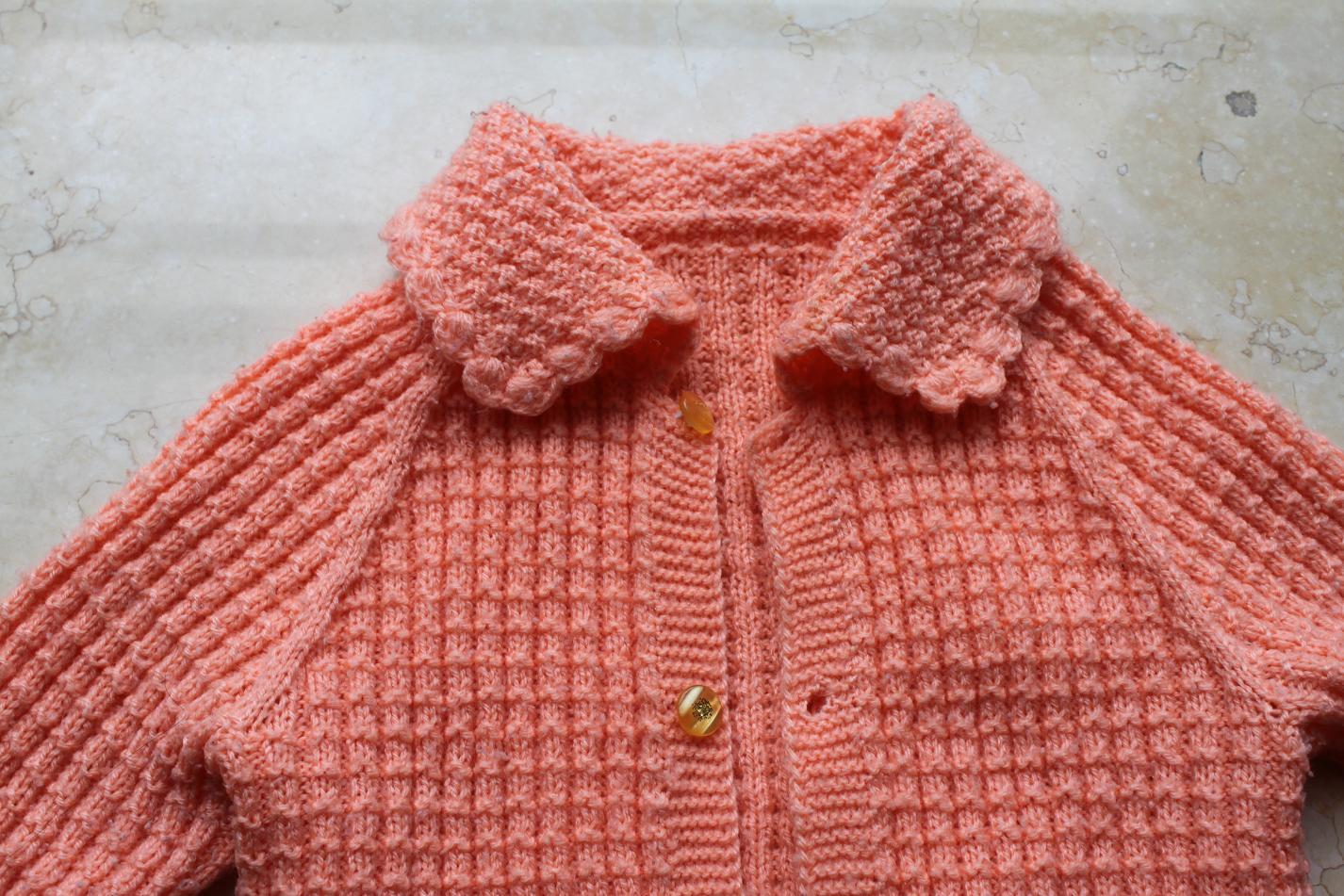 我妈妈给宝宝织的毛衣