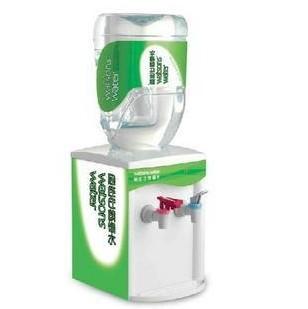 商品包含:一台饮水机+一个空桶+3个专用盖子