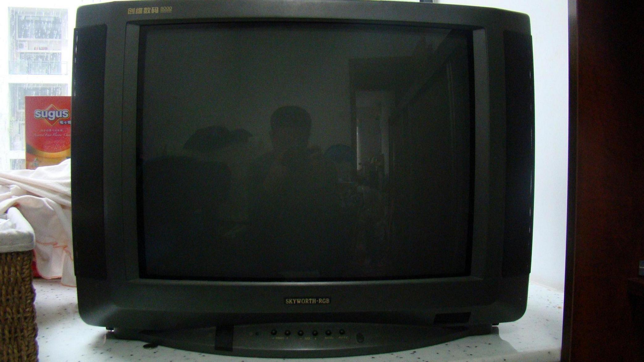 > 转让一台创维数码8000彩色电视,有意者请进.