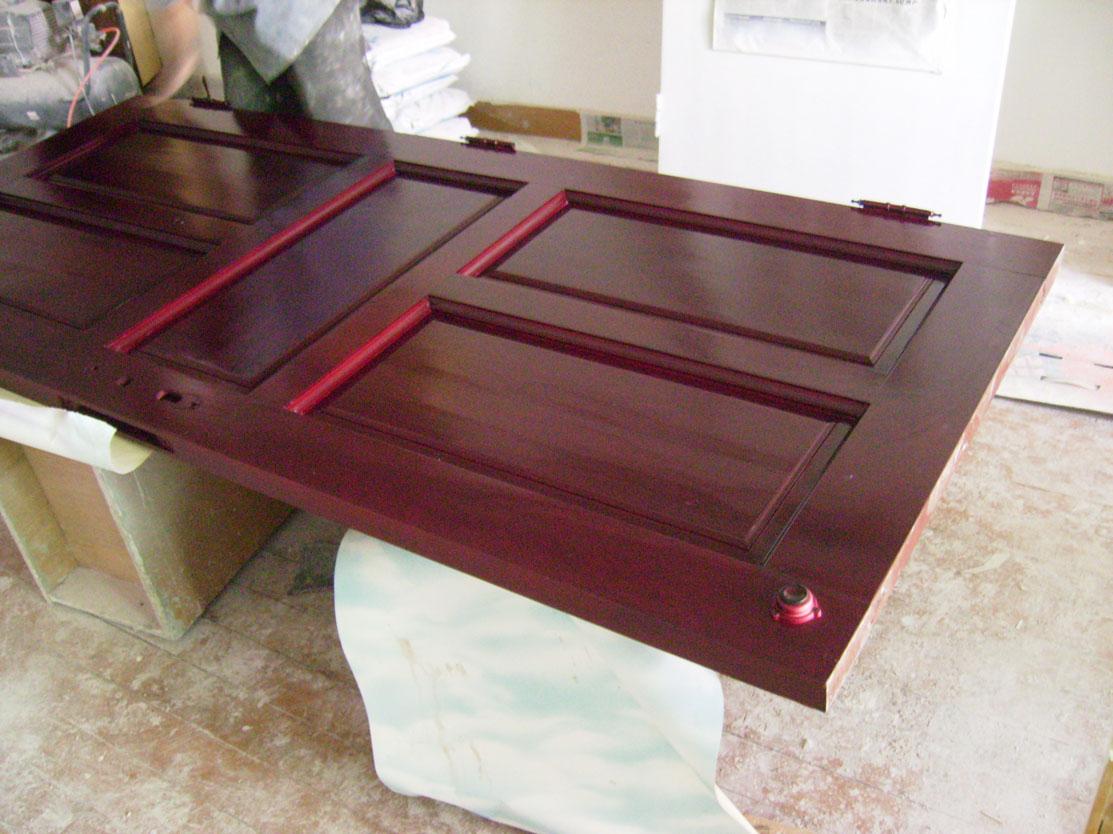 墙面翻新刷漆,木家具油漆翻新改色.木
