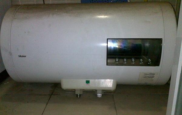 因改用燃气热水器,现出售海尔银海象a6电热水器