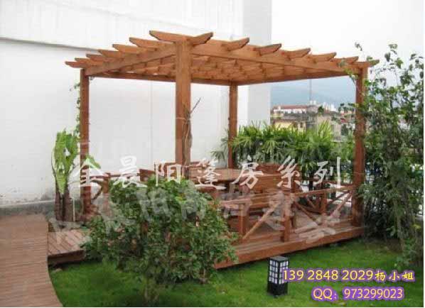 深圳阳台遮阳雨棚 阳台遮雨玻璃棚 钢结构雨篷 防腐木