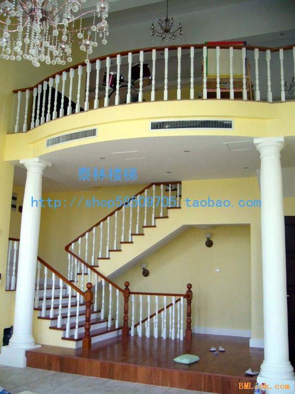 深圳泰林楼梯专业生产实木楼梯