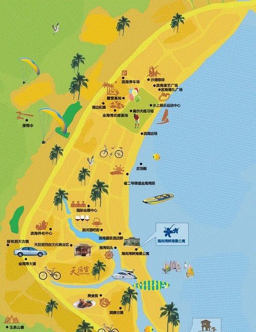 惠州市巽寮湾地图