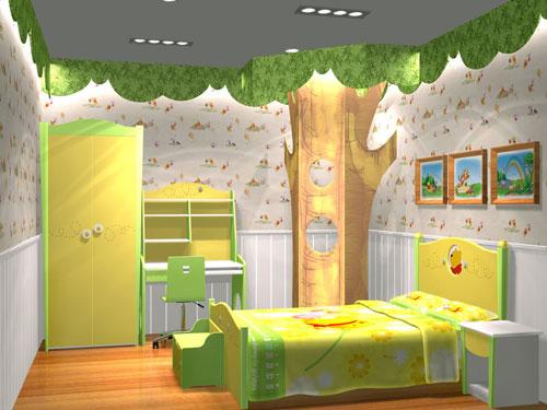 > 儿童房欣赏 梦幻般的童话世界