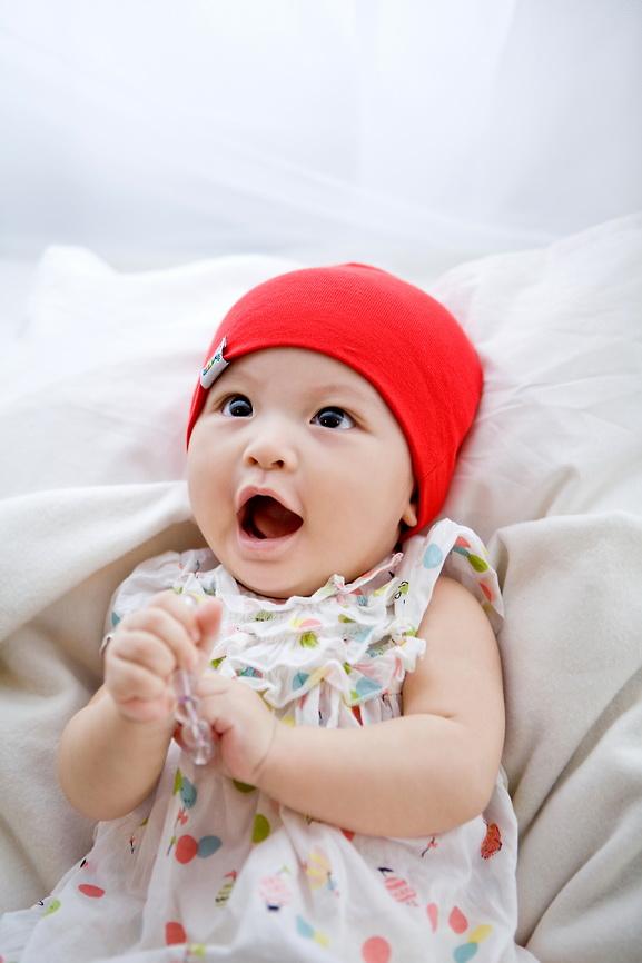 可爱大笑小孩头像