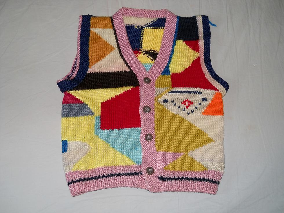 儿童毛背心手工编织图图片大全下载; 转让儿童衣服,裤子,鞋;