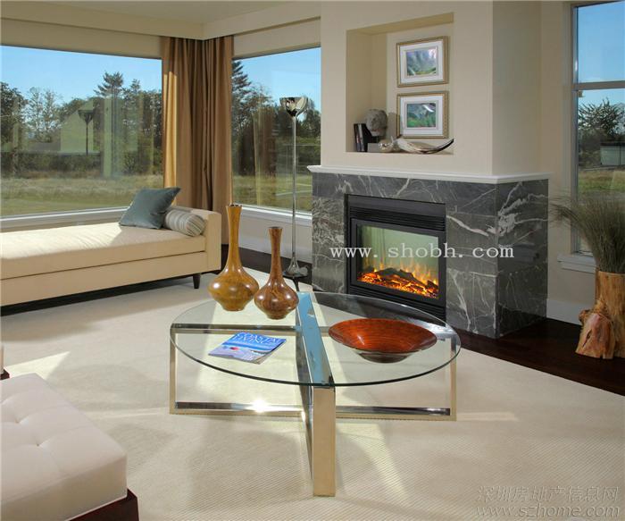 > 酒店别墅,宾馆样板房家装,公装欧式壁炉设计定制经典参考方案