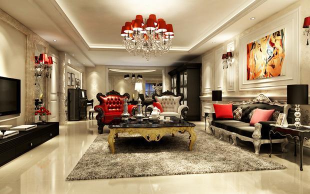 新古典装修样板房 欧式新古典风格美图欣赏