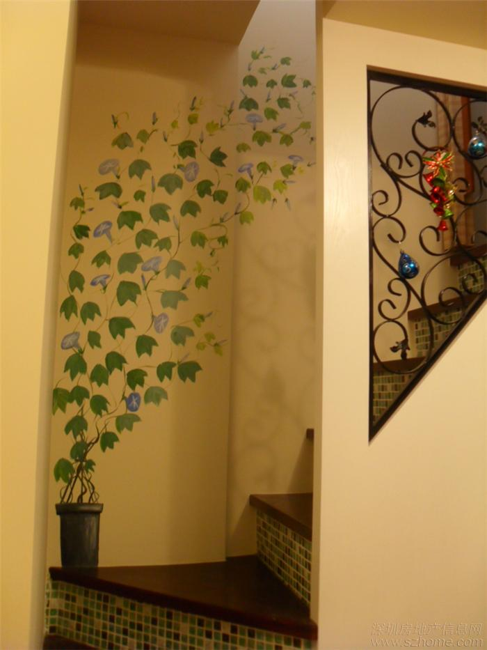 > 创意手绘墙-----让您的家更漂亮(年前画的一些墙绘)