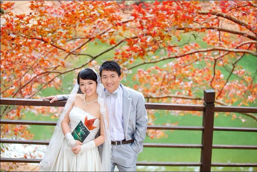 > 春夏秋冬婚纱照之手绘和精修片出来了!