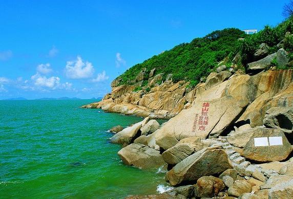 桂山风景区导游全景图