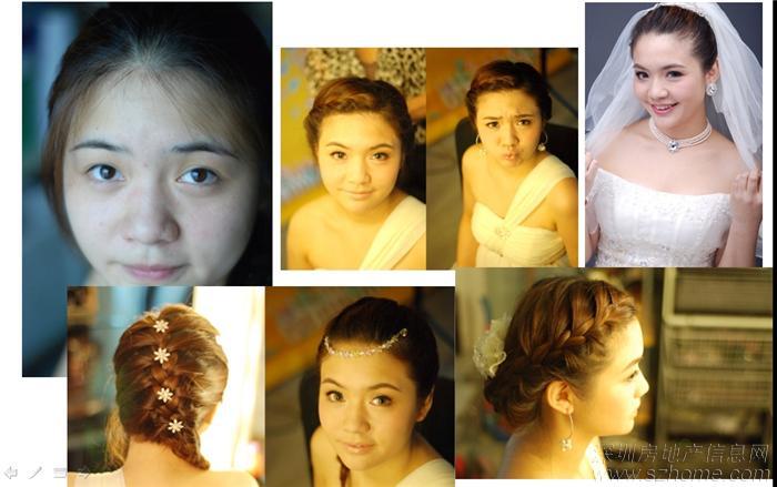 2014新娘跟妆造型 2014最新新娘跟妆造型 2014时尚新娘跟妆造型图片