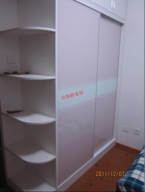 隔墙衣柜结构效果图