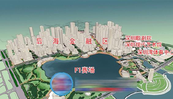 深圳前海 后海金融中心旁 南山海岸城整层甲级写字楼写字楼1945平米售