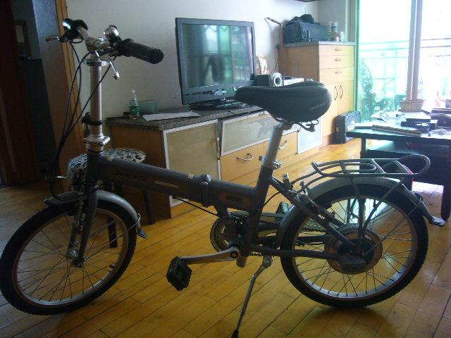 转电动变速自行车充电自行车9成新