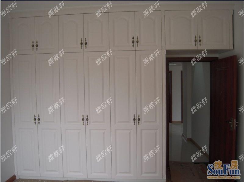 书柜衣柜组合效果图,衣柜书柜一体效果图,卧室书柜加衣柜效果图,高清图片