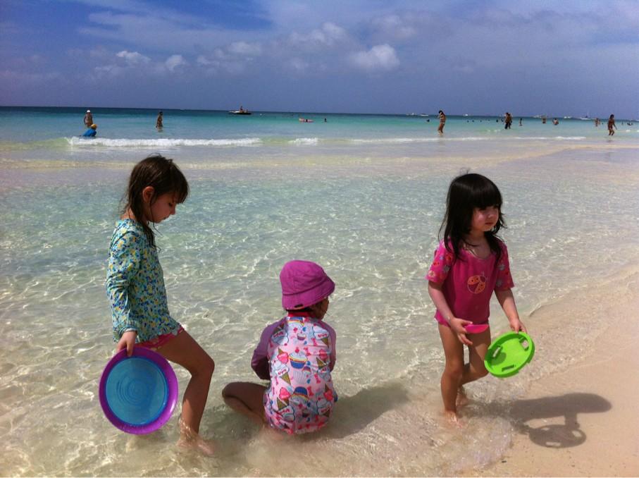 这是我在菲律宾长滩岛上拍的照片!
