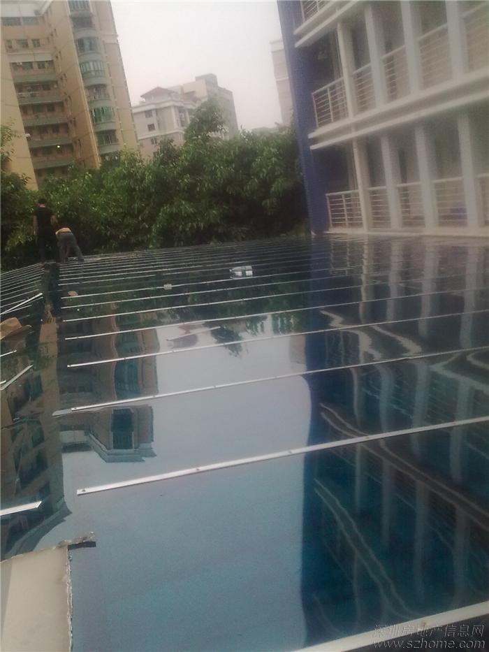 专业设计制作各种阳光雨棚