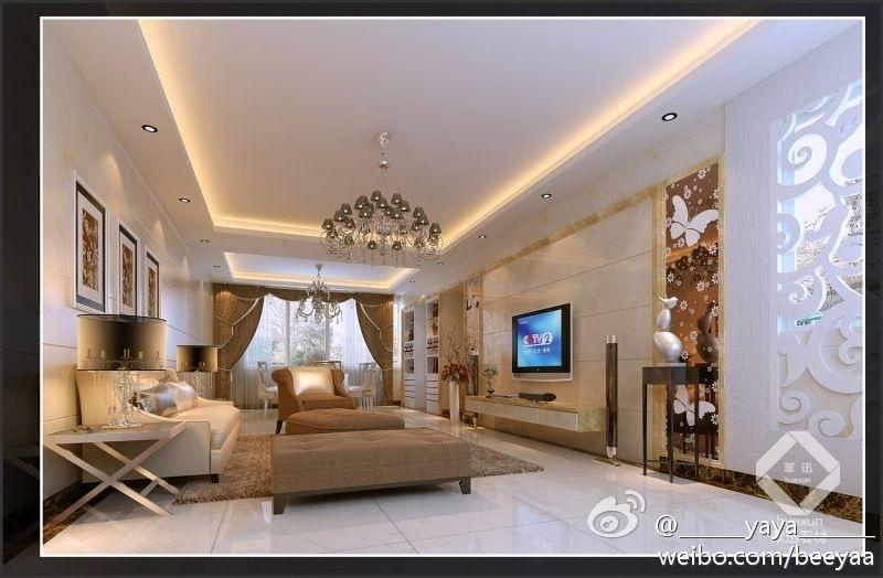 华迅人造大理石欧式设计背景墙