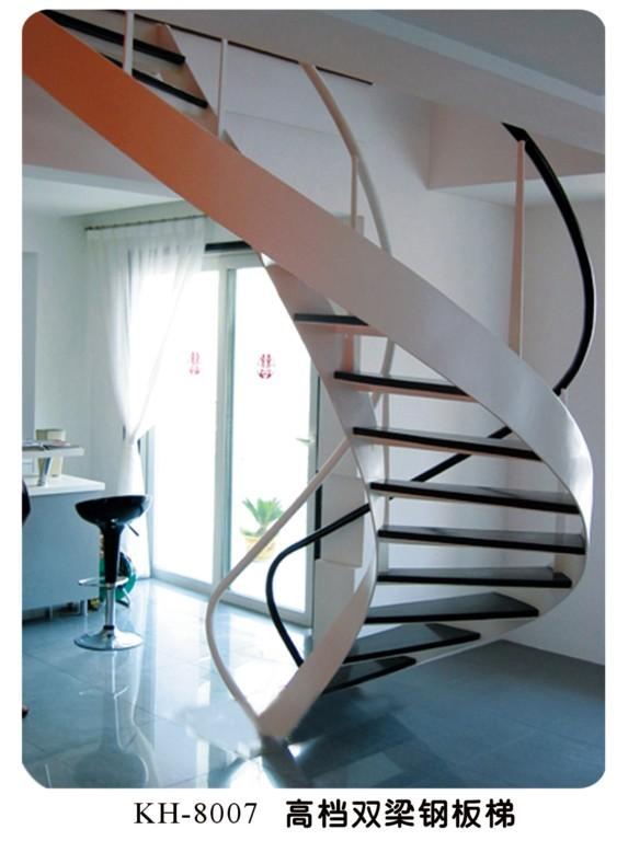 椭圆形楼梯的画法
