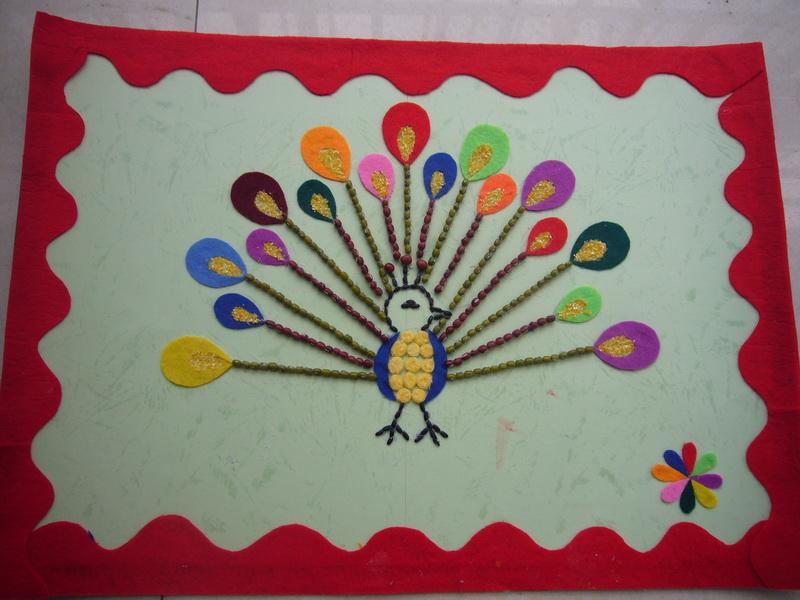 幼儿园作品墙边框_金色边框墙_主题墙边框手工_主题 ...