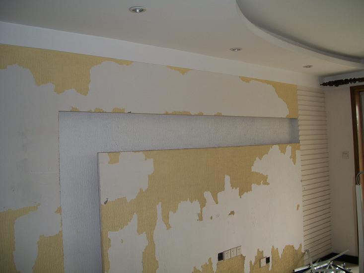油漆墙面防裂的处理方法