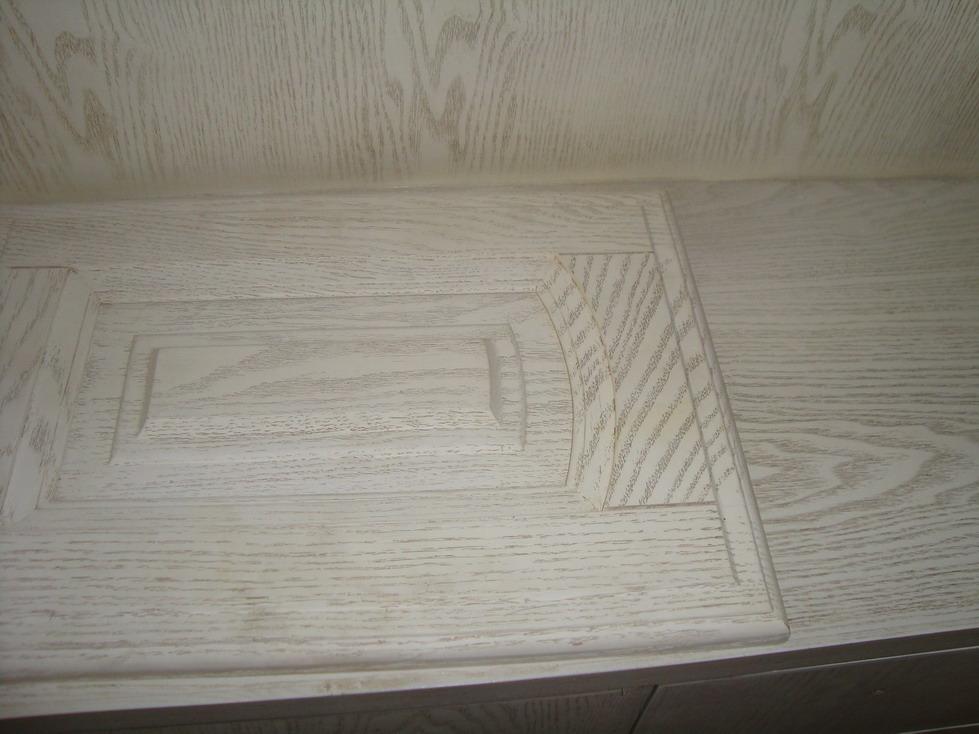 师傅做的是水曲柳木皮