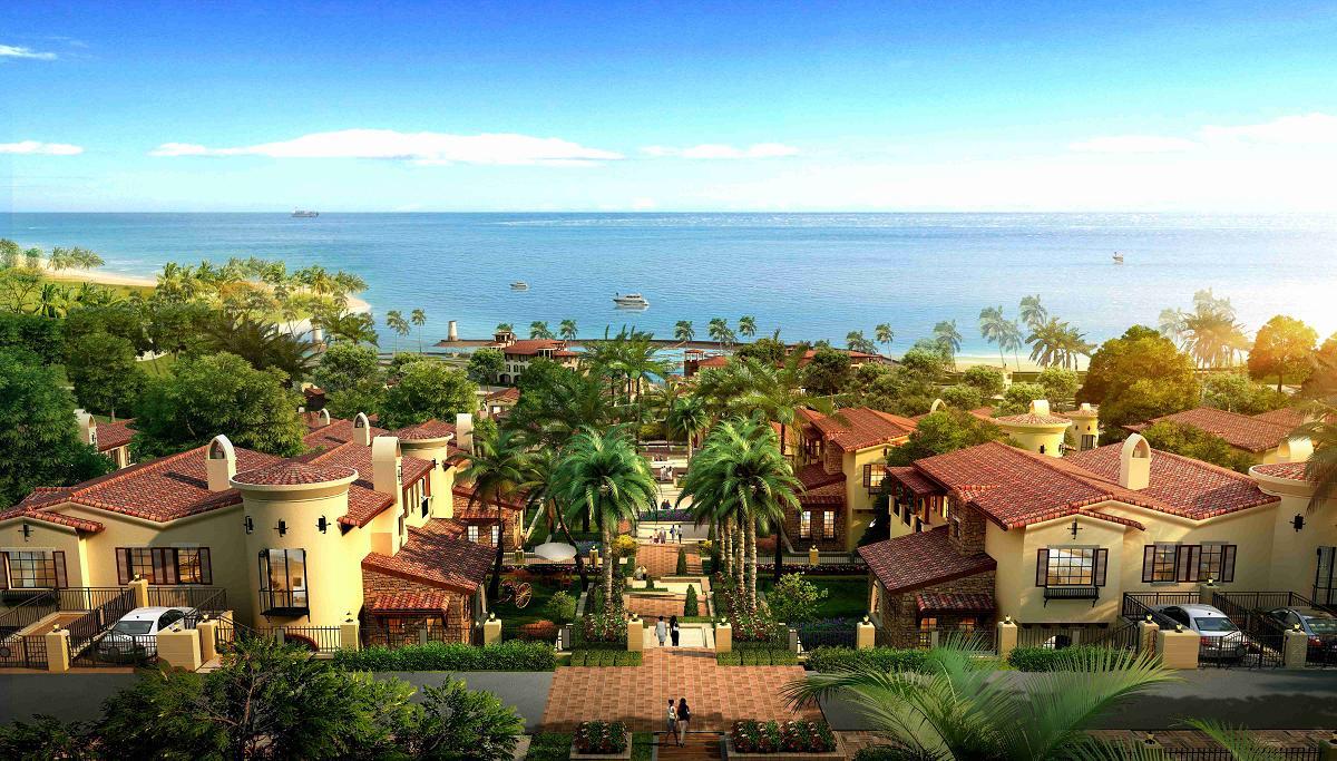 度假私人临海别墅--合正东部湾推荐,海边的别墅