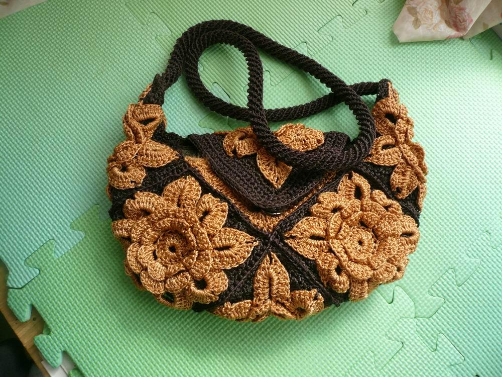 钩针编织包包款式图片 钩针编织包包,钩针编织包包花样图解高清图片