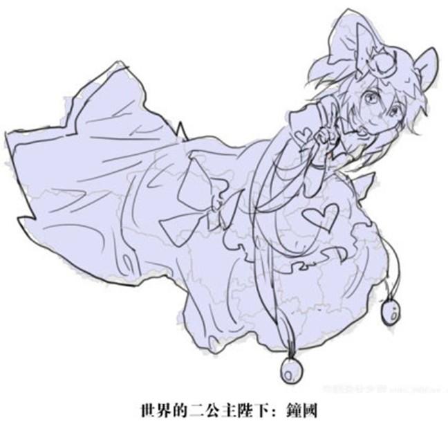 世界地图之卡通版 - 深圳房地产信息网论坛