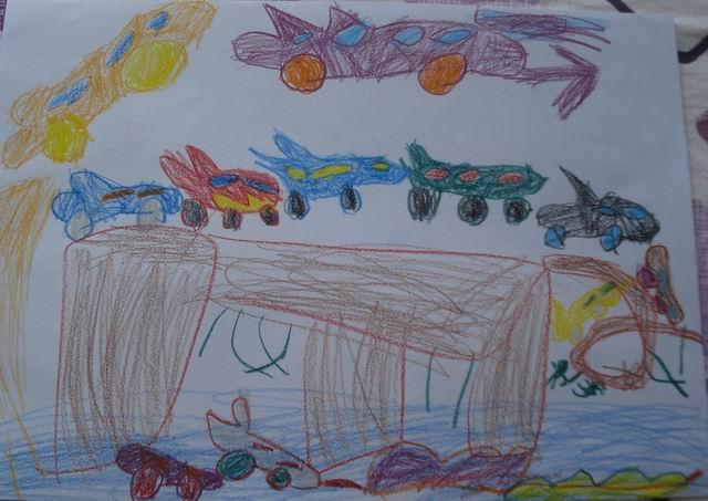 >> 文章内容 >> 四岁儿童绘画作品  如何教四岁孩子美术画画答:要教好