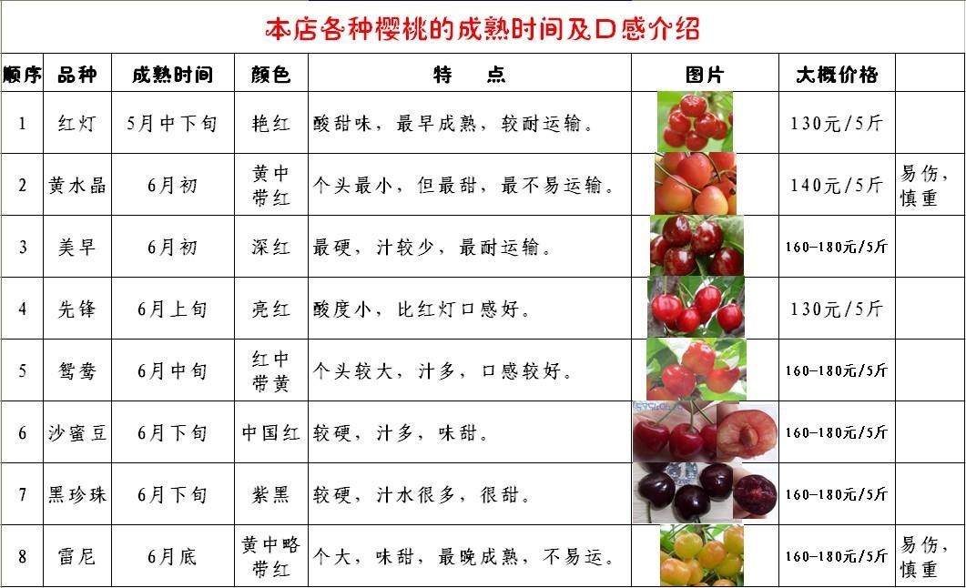 > 2012年陕西樱桃成熟了,大红灯新鲜上市!欢迎预订