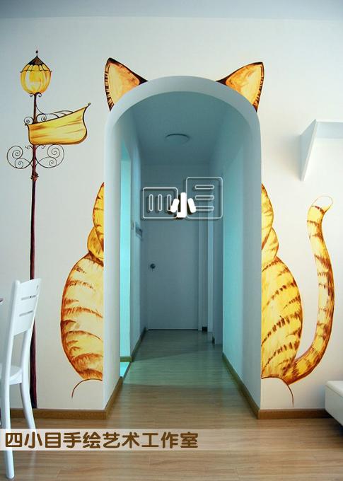 手绘墙,墙绘,壁画——四小目手绘艺术工作室